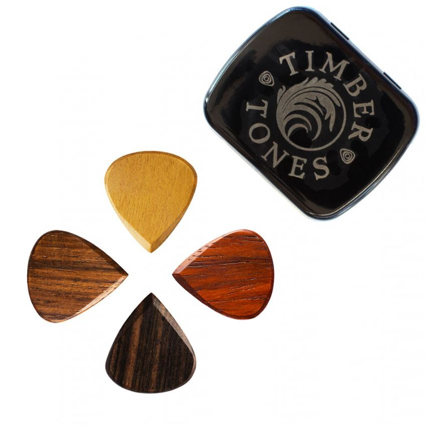 Blues Tones - Tin of 4 Guitar Picks | Timber Tones